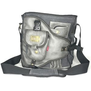 Aerlis Unisex Canvas Messenger Bag A990673